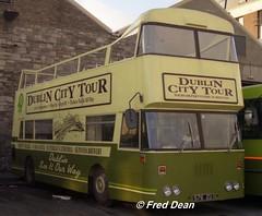 Dublin Bus D576 (576ZU). (Fred Dean Jnr) Tags: busathacliath dublinbus dublin dublincitytour shill summerhilldepot zu leyland atlantean d576 576zu summerhill november1997