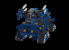o1 6w suv anti-air3 (demitriusgaouette9991) Tags: lego military army ldd armored suv tank turret powerful deadly future vehicle