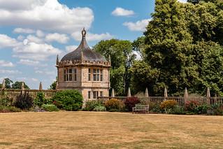 Elizabethan garden pavillion