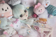 Disney World ♡ (Loony-Doll) Tags: pullip doll dolls groove junplanning jun planning jp prunella pullipprunella custo customisée custom wig luts eyechips eyelashes eyes obitsu poupée tsumtsum ufufy disney