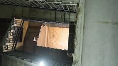 The painting of the ceiling that does not exist anymore (Kodak Agfa) Tags: clockshop watchesshop cairo downtowncairo history shops masperotriangle news egypt africa mideast mena middleeast القاهرة مصر محل وسطالبلد