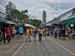 Chatuchak weekend market in Bangkok, Thailand (UweBKK (α 77 on )) Tags: chatuchak jatujak weekend market sales promotion people shopping shop bangkok thailand southeast asia iphone