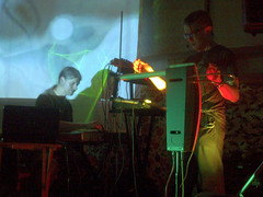 Memory Wire at Church Of Sound (unclechristo) Tags: theremin memorywire chrisconway jimtetlow