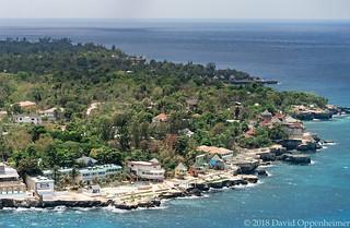 Samsara Cliff Hotel in Jamaica Aerial Photo
