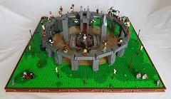 3 Amber Palace front (Lub3e) Tags: lego moc britannia tvseries druids cantii romans amberpalace ritual diorama stone circle