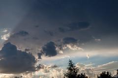 Clouds in the Shade / @ Dresden / 2018-07-25 (astrofreak81) Tags: sunset dresden clouds sky birds sonnenuntergang wolken shade shadow schatten 20180725