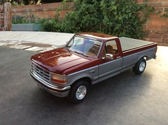 1995 Ford F-150 XLT (AMT) (Modelmadness) Tags: ford amt 1995 model kit