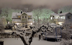 Winter is coming back (My Best Images) Tags: flickr dark night rx100 sony norraängby