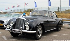 Bentley R-Type Continental by H.J. Mulliner 1955 (XBXG) Tags: ar6076 bentley rtype continental hj mulliner 1955 british race festival 2018 circuit zandvoort nederland holland netherlands paysbas vintage old classic car auto automobile voiture ancienne anglaise brits uk vehicle outdoor
