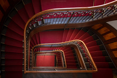 Staircase No. 11 (Sascha Gebhardt Photography) Tags: nikon nikkor d850 1424mm lightroom travel tour photoshop fototour fx treppenhaus treppe staircase stairs steps germany deutschland cc
