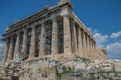 Acrópolis - Atenas (hectorjrivas) Tags: historia monumento patrimonio ruinas grecia atenas partenón