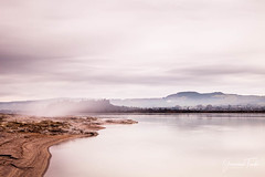 ALONG THE LAKE (Cor Lems) Tags: point landscape newzealand water sunrise lakerotorua sulphur landscapes geothermal lake rotorua