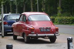 1975 Saab 96 70-EL-36 (Stollie1) Tags: 1975 saab 96 70el36 nijmegen