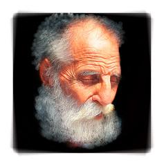 Contemplation .... (daystar297) Tags: streetportrait portrait elderly man old beard eyesclosed face closeup nikon