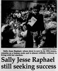 Sally Jesse Raphael / Sally Jessy Raphael (The Mandela Effect Database) Tags: sally jesse raphael jessy mandela mandala mandelaeffect residual research residue proof print news newspaperscom newspapers