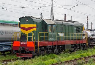 ЧМЭ3-6020, станция Ожерелье, Московская область