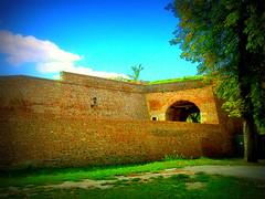 Kalemegdan wall (Superoperater hero) Tags: belgrade beograd green kalemegdan photos summer tree tvrdjava wall fortress