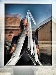 Selfie true reflection of art (Marc Gommans) Tags: selfportrait selfie art reflection groede reflectie summer 2018 dutch netherlands zeeuwsvlaanderen huaweip20pro leica snapseed smartphone outdoor