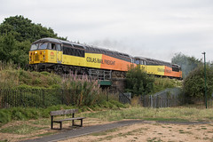 Colas Rail Freight Class 56 56078 & 56113 (Barry Duffin) Tags: train railway locomotive lightengine colas class56 56078 56113 nottingham eastcroft belmont radford 0c81 35mm
