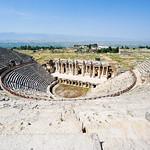 Teatro de Hierapolis, Pamukkale. Turquía. thumbnail