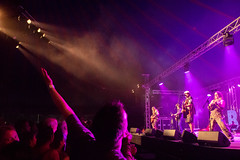 Hayseed Dixie Ealing Blues Festival July 2018 (www.kevinoakhill.com) Tags: hayseed dixie ealing blues festival july 2018 west london borough walpole park gig show concert live music men man male all group band bluegrass rock roll rockgrass guitar banjo mandolin bass vocals harmonies song songs brilliant amazing wonderful fantastic boiling hot photo photos summer sun indoor tent marquee perfect canon eos 7d mark 2 ii 18200mm lens beard beards facial hair long queen ac dc kiss incredible time out londonist