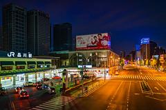 Shinagawa Station (Joits) Tags: tokyo japan shinagawa minato minatoku jrstation longexposure bluehour