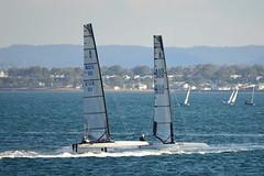 800_4797 (Lox Pix) Tags: queensland qld australia catamaran trimaran hyc humpybongyachtclub winterbash loxpix foilingcatamaran foiling bramblebay sailing race regatta woodypoint boat