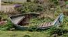 Boat (Retd.) (kurjuz) Tags: dwejra ghawdex gozo malta abandoned boat broken decay scrap vegetation wood
