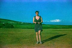 Image 34 (terrible_volk) Tags: film slide agfact100 rhosili beach cymru