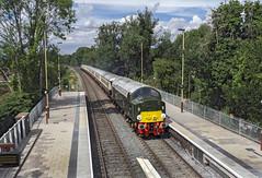 D213 (Geoff Griffiths Doncaster) Tags: d213 40013 213 andante class 40 5z91 albrighton saphos cfps