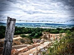 Carrière de Mellecey - Givry (AleXtrem PiX) Tags: nature stone career burgundy gx80 lumix 14140 cloud nuage paysage landscape g vario