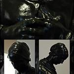 1 - Musée Camille Claudel - Ernest Nivet, Paysanne reprisant, Bronze - Détails thumbnail