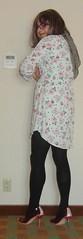 CIMG7849 crop (antonia.lovecd) Tags: tgirl transgender trannie transvestite crossdressing genderfluid tg crossdresser girlslikeus boyswillbegirls floraldress shirtdress highheels pumps stilettos