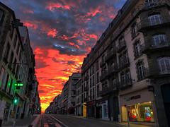 Brest (Photos de Brest et d'ailleurs) Tags: brest sunrise finistere street