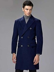 DOUBLE BREASTED NAVY BLUE CASHMERE AND WOOL OVERCOAT TOPCOAT (overcoatusa) Tags: men mens mensclothes mensfashion menswear mensstyle overcoat mensovercoat cashmerecoat menscoat fashion clothing mensclothing menstyle cashmere coat navybluecoat