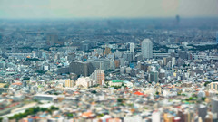 #222 Tokyo in miniature (tokyobogue) Tags: tokyo japan ikebukuro sunshinebuilding nikon nikond7100 d7100 sigma sigma1750mmexdcoshsm miniature effects tiltshift city cityscape urban sprawl 365project