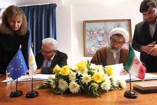 Yπογραφή συμφωνίας συνεργασίας στον τομέα της έκδοσης φυγόδικων και της μεταφοράς κατάδικων