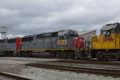 UP 1004 (imartin92) Tags: emeryville california unionpacific railroad railway freight train ssw stlouissouthwestern southernpacific emd gp60 locomotive