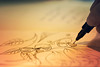 The artist (cazadordesueños) Tags: cartoonist paint pen pencil draw paper dof bokeh stilllife artist dibujante pintor boli lapiz papel dibujo macro