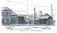 Palacios de Corneja2 (P.Barahona) Tags: calle casas arquitectura portones chimeneas postes tejados