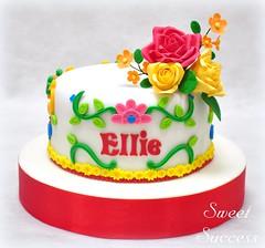 Cinco de Mayo Cake (sweetsuccess888) Tags: cake birthdaycake cincodemayo cincodemayoparty flowers philippines