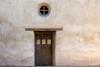 Portals To The Spirit World (Edmonton Ken) Tags: wall door portal window stucco adobe old historic mission san juan capistrano california travel tourism vacation swallows brown wood sill