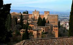 Spain: Granada, the Alhambra (Henk Binnendijk) Tags: alhambra spain spanje españa granada andalucia andalucía andalusia palace fortress arabic muslim nasrid reconquista alcazaba explore architecture