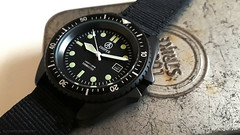 Cooper Submaster PVD SAS SBS Military 300m Divers Watch (antarc foto) Tags: cooper submaster pvd sas sbs military divers watch sm8016 professional 300m 1000ft black miyota 2115 quartz coating movement 316l stainless steel