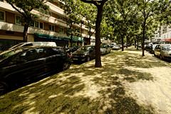 Reflets trottoir