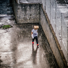 Voltron in the rain (Sebastian Pier Filip) Tags: canon g16 pointandshoot rain street