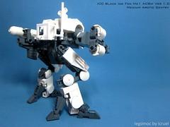 ICC Black Ice Fox Mk1 (icycruel) Tags: lego moc mech arctic sentry sci fi military outpost charlie
