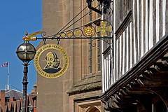 Stratford Guildhall (42jph) Tags: stratforduponavon warwickshire uk england nikon d7200 guildhall shakespeare schoolroom church street sign