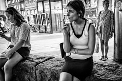 Images on the run... (Sean Bodin images) Tags: streetphotography streetlife strøget seanbodin streetportrait copenhagen citylife candid city citypeople homeless hverdagsliv gadefotografi people photojournalism photography weather woman women justgoshoot