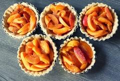 Tartelettes à l'abricot (eva Landes) Tags: desserts yummy abricots fruits food